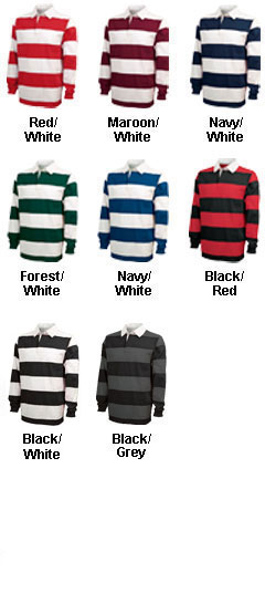 Classic Rugby Shirt by Charles River Apparel - All Colors