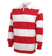 Custom Adult Classic Rugby Shirt by Charles River Apparel