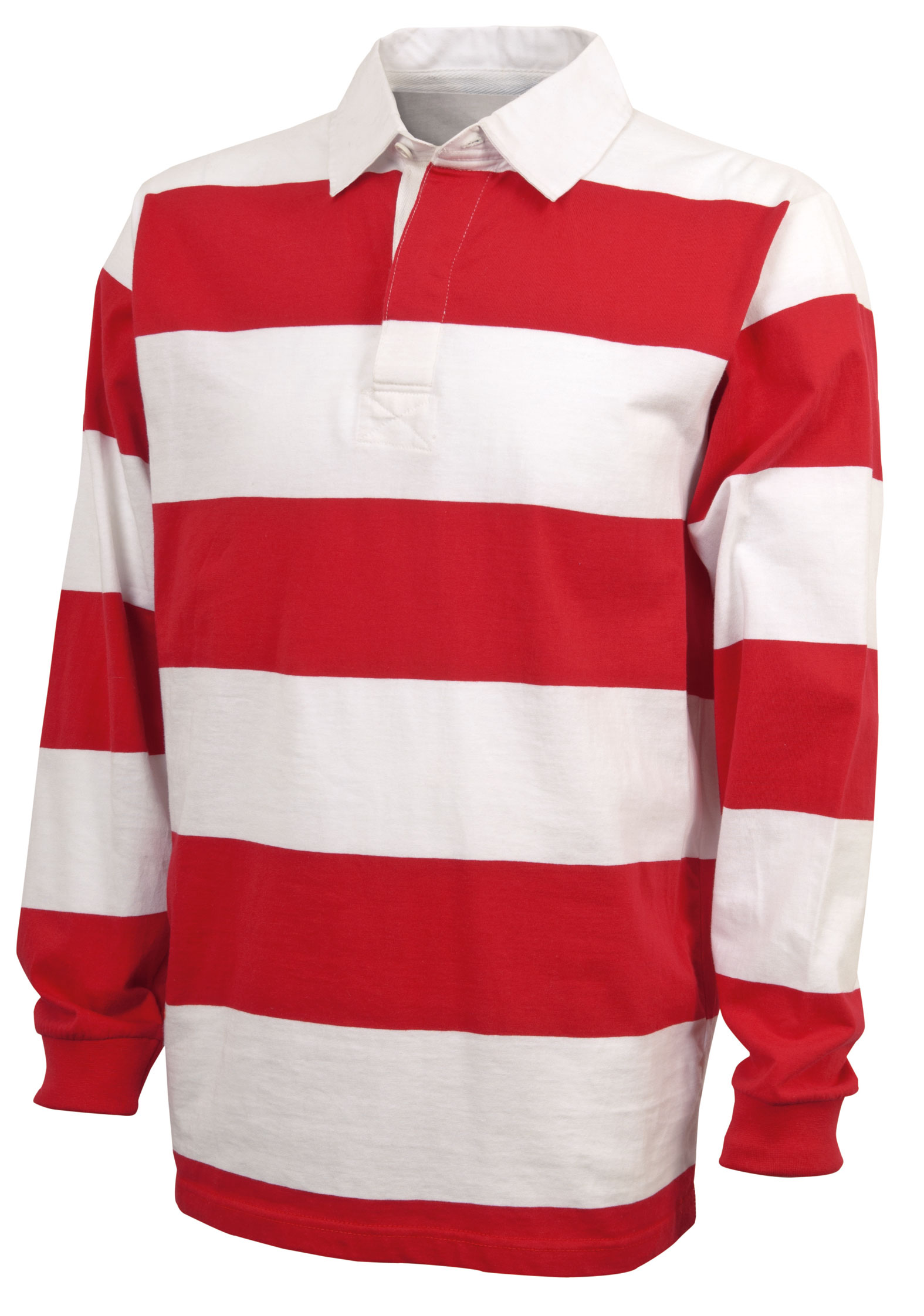 Adult Classic Rugby Shirt by Charles River Apparel