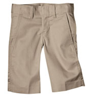 Custom Boys Flat Front Flexwaist Short
