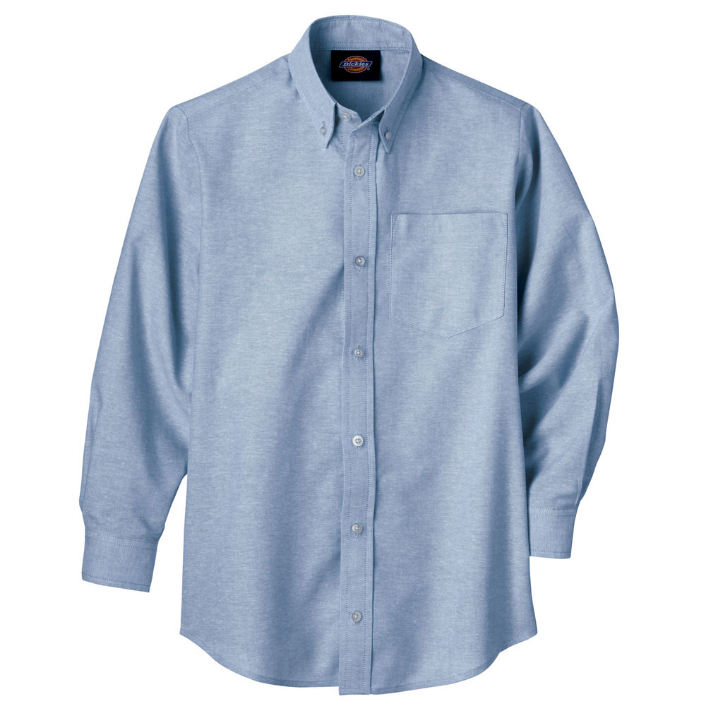 Boys Long Sleeve Oxford Shirt by Dickies
