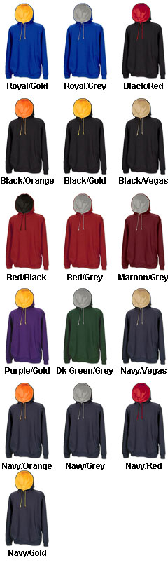 Game Sportswear Rival Two-Tone Youth Hoodie  - All Colors