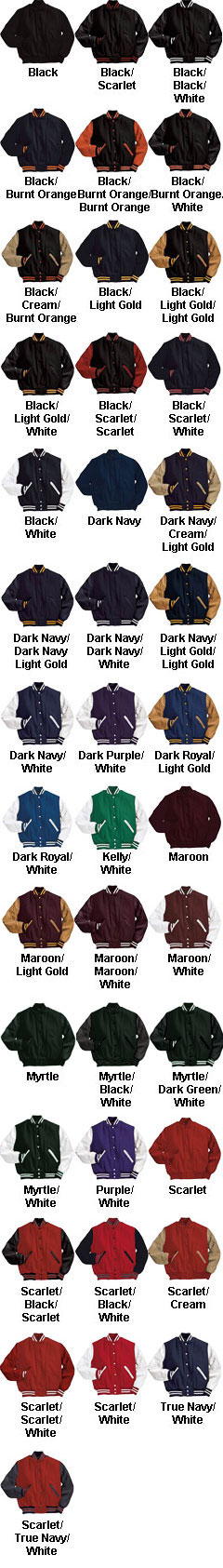 Varsity Jacket by Holloway - All Colors