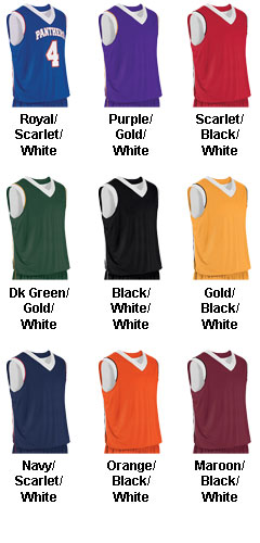 Teamwork Youth Finger Roll Reversible Basketball Jersey  - All Colors