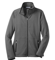 Custom Port Authority® Ladies Pique Fleece Jacket