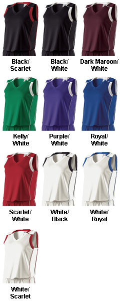 Holloway Ladies Carthage Jersey - All Colors