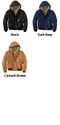 Carhartt Flame Resistant Duck Active Jacket with Quilt Lining - All Colors
