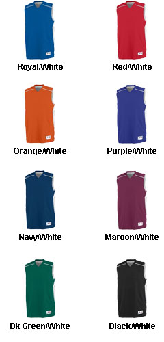 Augusta Youth Slam Dunk Reversible Jersey  - All Colors