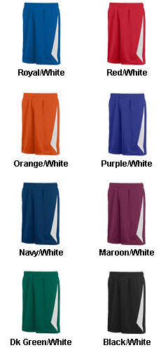 Augusta Youth Slam Dunk Reversible Short  - All Colors