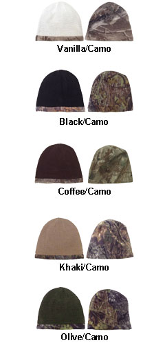 Reversible Camo Beanie - All Colors