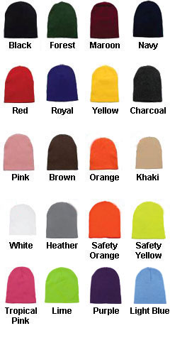 Short Knit Beanie - All Colors