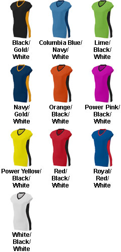 Augusta Ladies Hit Volleyball Jersey  - All Colors