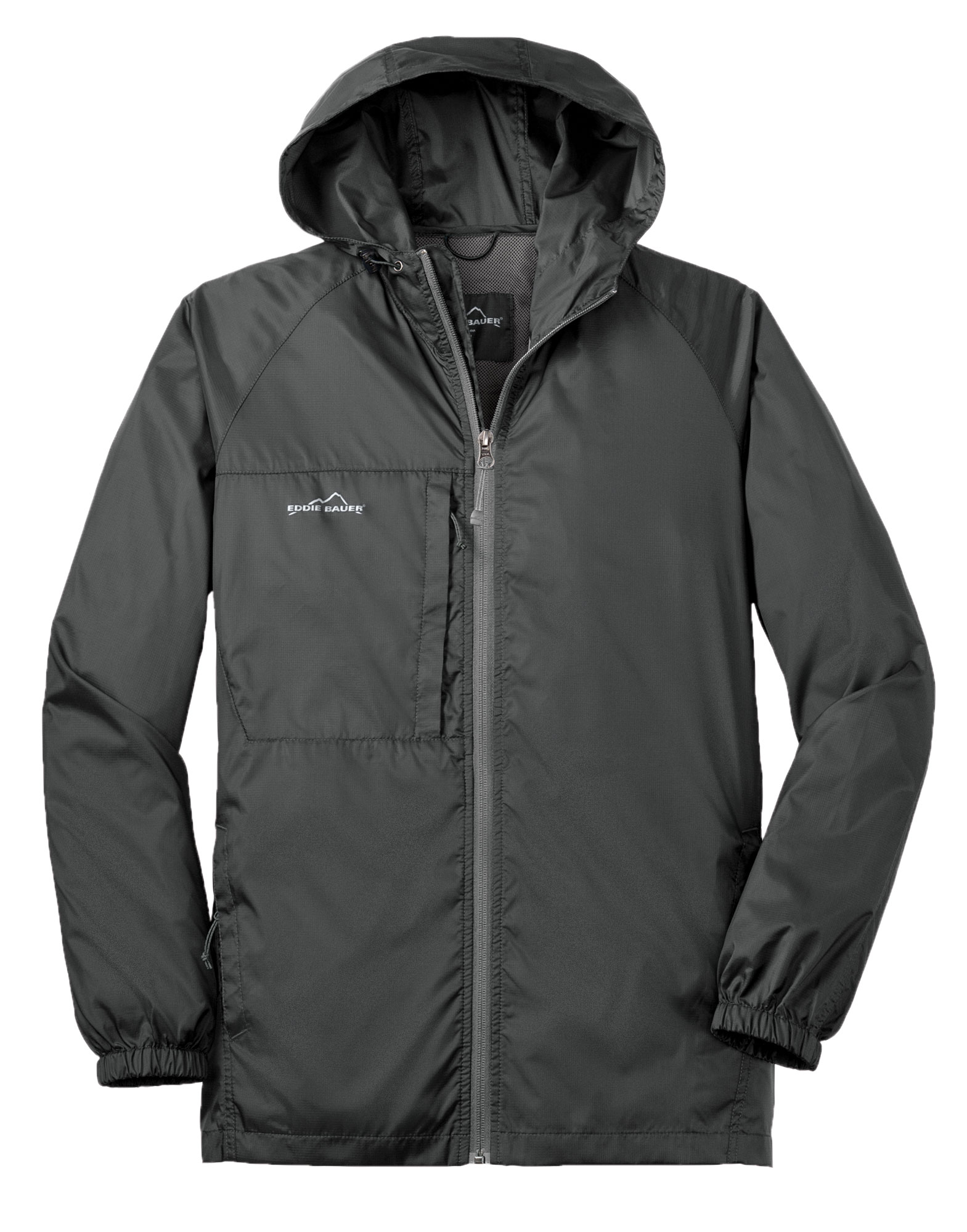 Custom Eddie Bauer 174 Mens Packable Wind Jacket