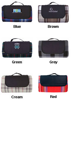 Outdoor Plaid Blanket - All Colors
