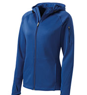 Custom Sport-Tek® Ladies Tech Fleece Full Zip Hooded Jacket