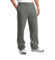 Custom Sport-Tek® Adult Open Bottom Sweatpant