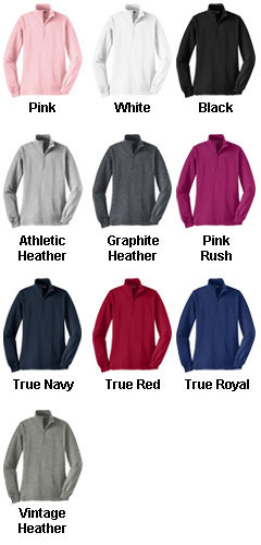 Ladies Sport-Tek® 1/4 Zip Sweatshirt - All Colors