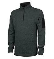Custom Charles River Mens Soft Heathered Fleece Pullover