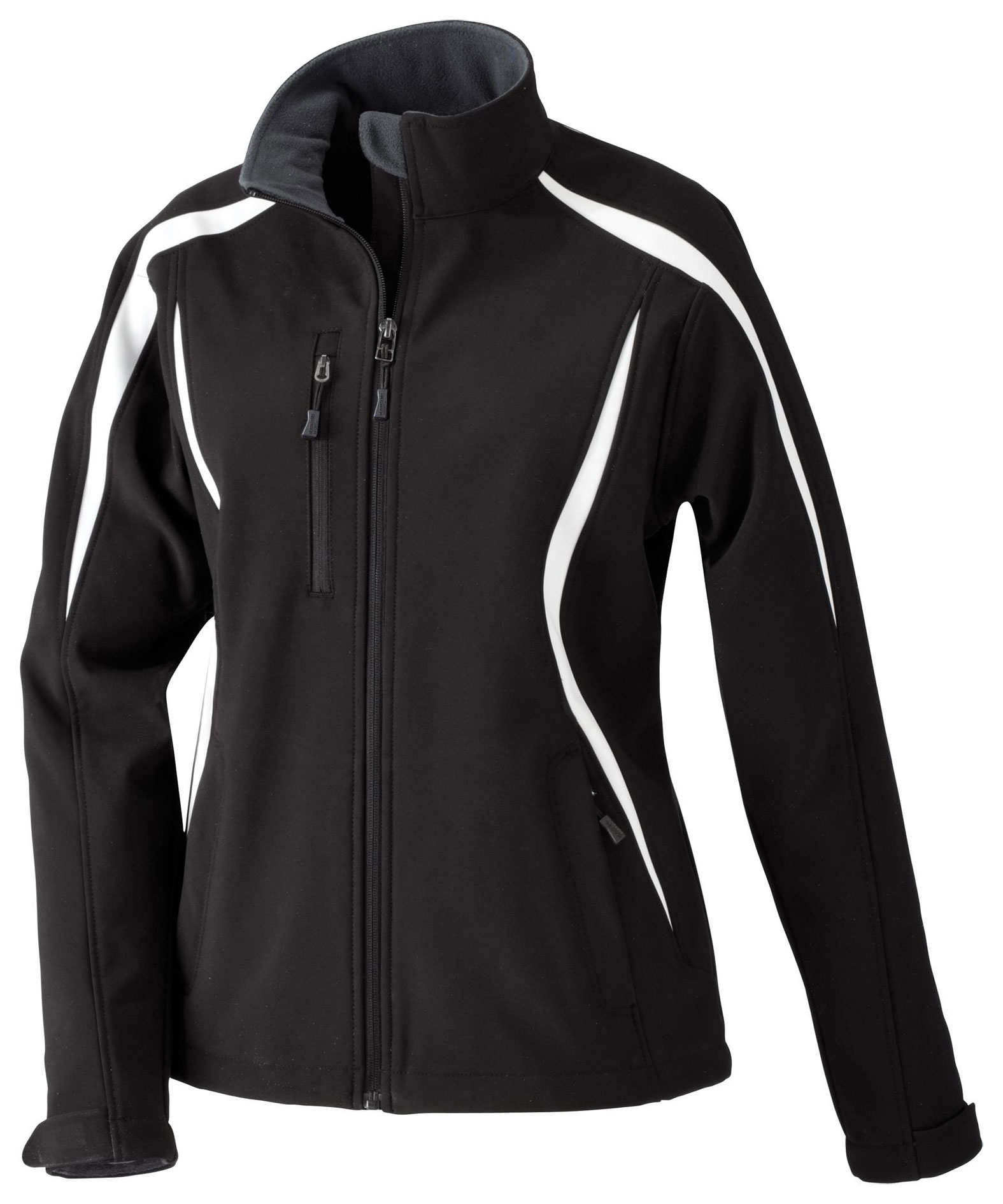 North End Ladies Enzo Colorblocked Soft Shell Jacket