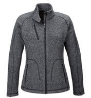 Custom North End Ladies Peak Sweater Fleece Jacket