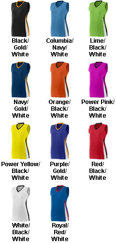 Augusta Girls Tornado Jersey - All Colors