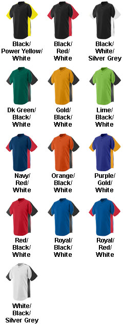 Augusta Adult Mens Blast Jersey  - All Colors