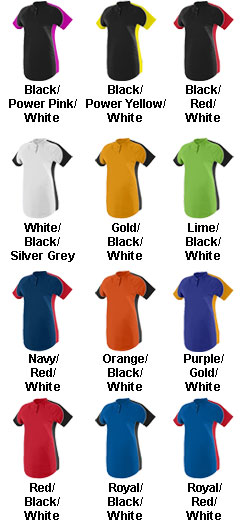 Augusta Girls Blast Jersey  - All Colors