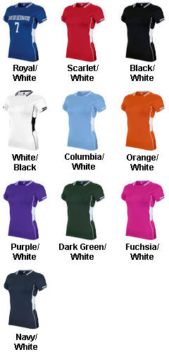 Teamwork Womens Challenger Lacrosse Jersey - All Colors