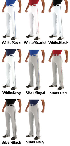 Teamwork Youth Relay Piped Baseball Pant - All Colors