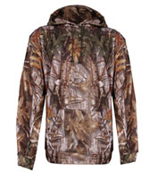 Custom BT5 Performance Camo Fleece Hooded Sweatshirt by Badger Mens