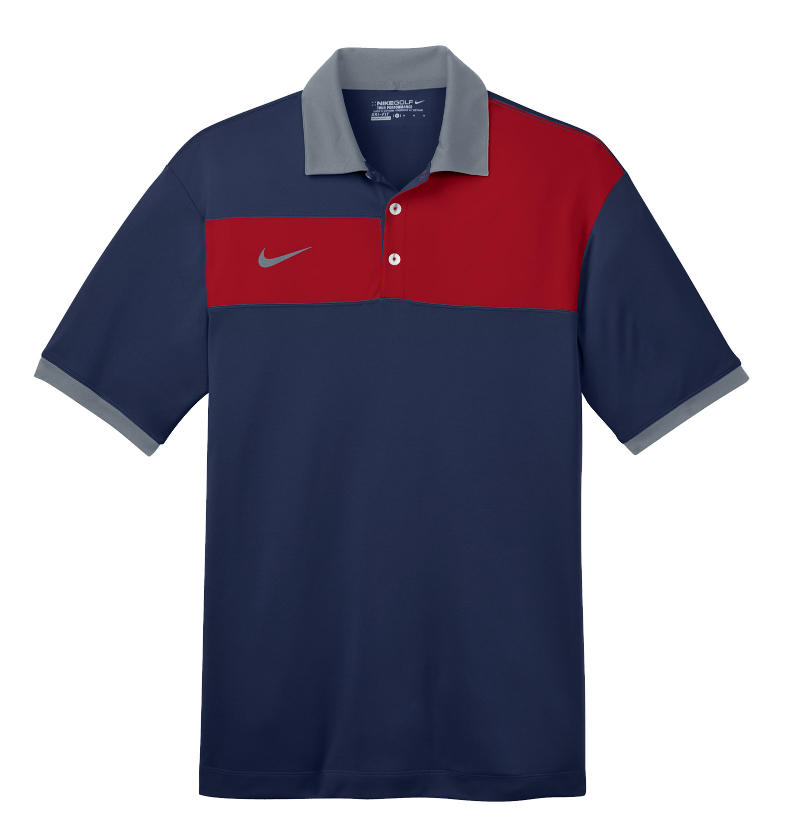 Nike Golf Dri-FIT Sport Colorblock Polo
