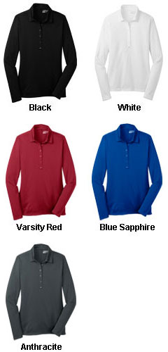 Nike Golf Ladies Long Sleeve Dri-FIT Stretch Tech Polo - All Colors