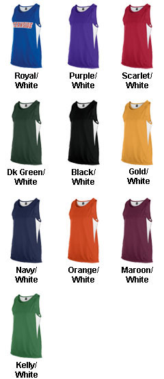 Teamwork Womens Tempo Singlet - All Colors