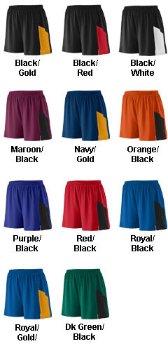 Augusta Adult Sprint Track Short - All Colors