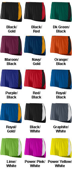 Augusta Ladies Sprint Track Short  - All Colors