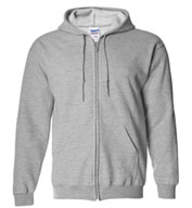 Custom Gildan Mens Heavy Blend™ Full Zip Hooded Sweatshirt