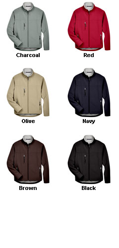 Devon & Jones Mens Soft Shell Jacket - All Colors