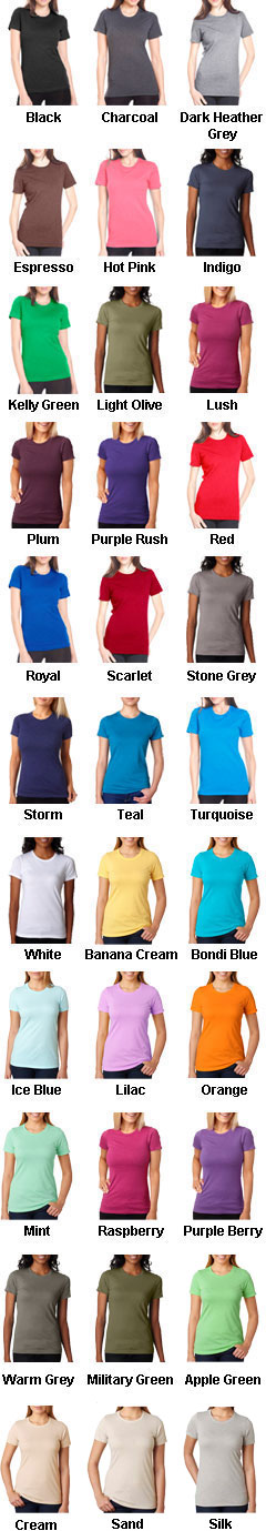 Next Level Ladies CVC Crew Tee - All Colors