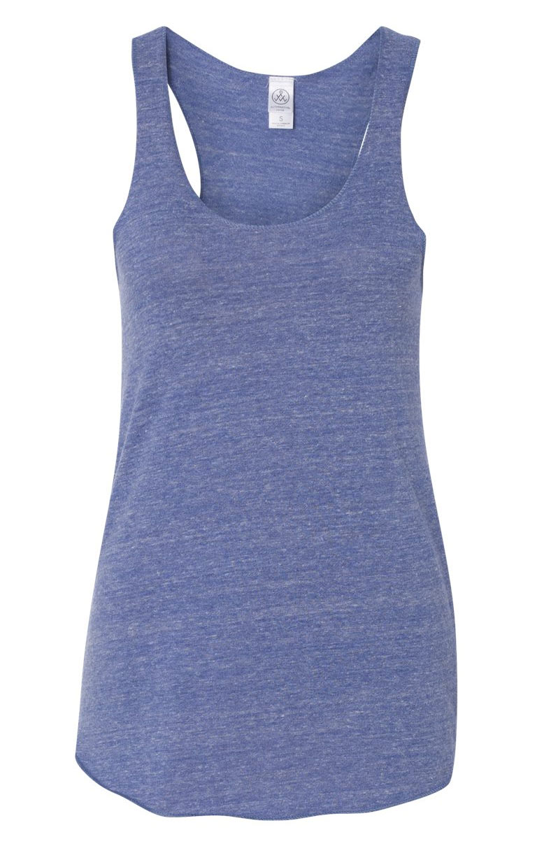Ladies Meegs Eco Jersey Racerback Tank by Alternative Apparel