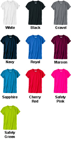 New Balance Ladies Ndurance Athletic V-Neck T-shirt  - All Colors
