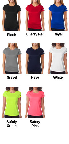 New Balance Ladies Tempo Performance T-shirt - All Colors