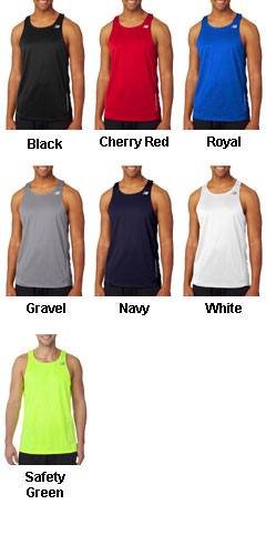 New Balance Mens Tempo Running Singlet - All Colors