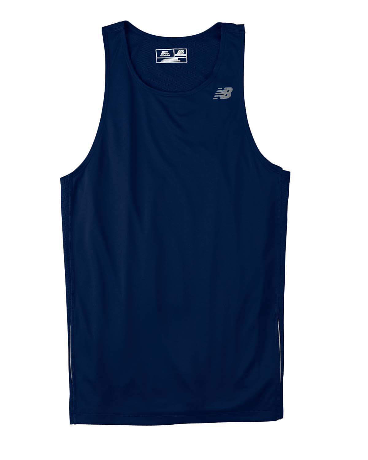 New Balance Mens Tempo Running Singlet