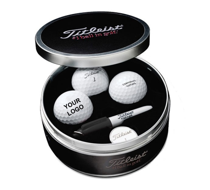 Titleist Pro V1 Tin With Customizable Golf Balls
