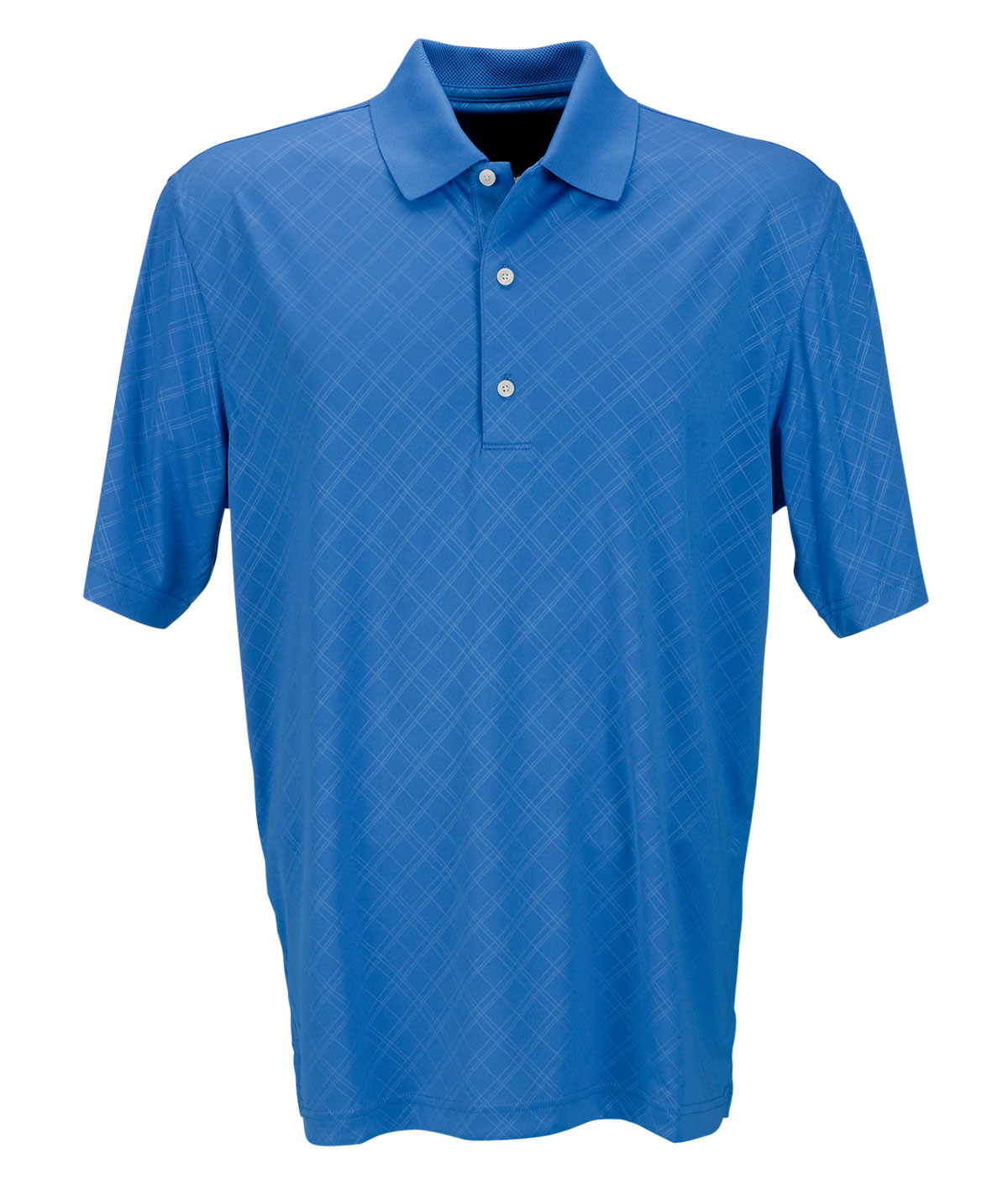 Greg Norman Adult Play Dry Diamond Embossed Polo