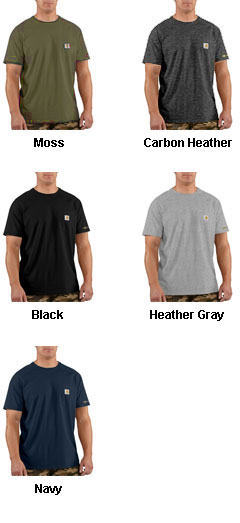 Force™ Cotton Short Sleeve T-Shirt from Carhartt - All Colors