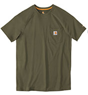 Custom Carhartt  Mens Force™ Cotton Short Sleeve T-Shirt from Carhartt