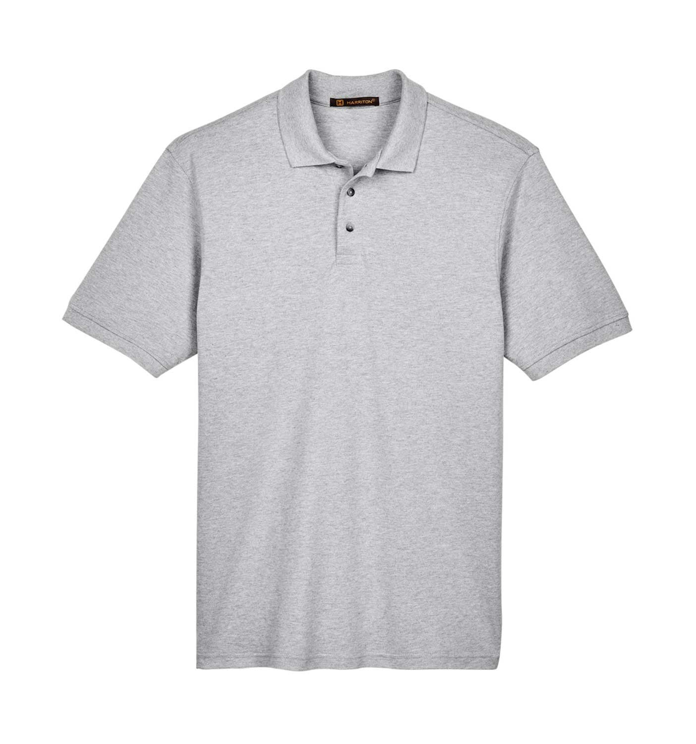 Men's Ringspun Cotton Pique Short-Sleeve Polo