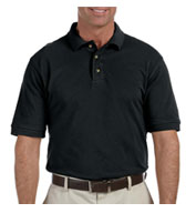 Custom Harriton Men's Tall Ringspun Cotton Pique Short-Sleeve Polo