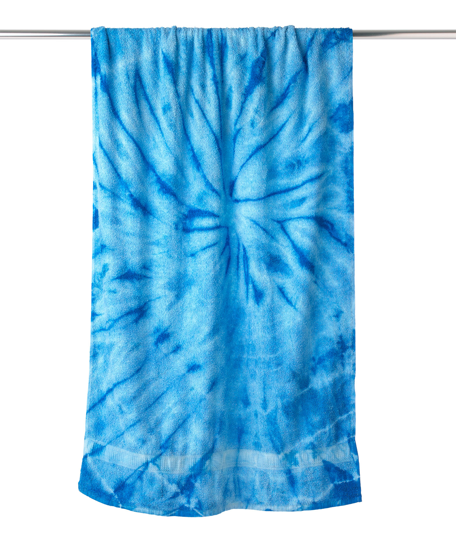 Tie-Dyed Beach Towel